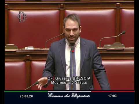 Giuseppe Brescia - Intervento sull'ordine dei lavori 25/03/20