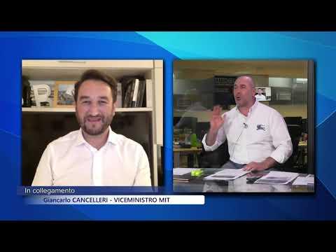 Giancarlo Cancelleri ospite a Cusanotv il 25/03/20