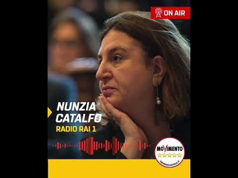 Nunzia Catalfo a Radio Rai 1 - 22/5/2020