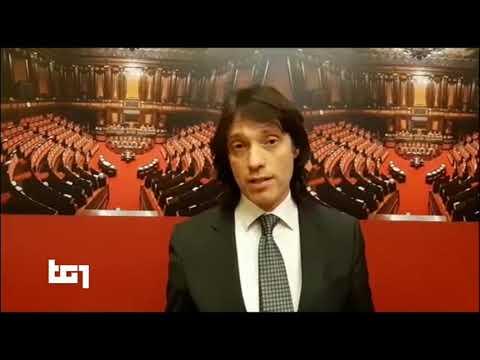 Gianluca Perilli (M5S) - servizio al Tg1 22/5/2020 ore 20