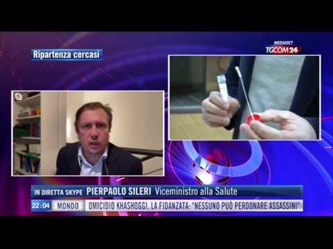 Pierpaolo Sileri ospite a TGcom24