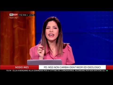 Gianluca Perilli (M5S) ospite a SkyTg24 - 29/6/2020