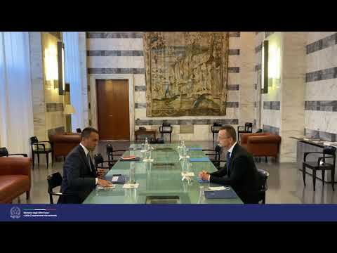 Il Min. Di Maio incontra il suo omologo ungherese, Péter Szijjártó