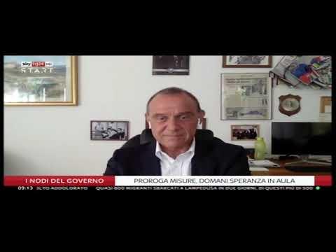 Ettore Licheri ospite a SkyTg24 Start - 13/07/2020