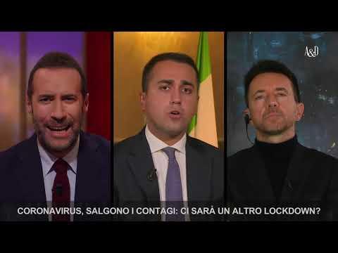 Luigi Di Maio ospite ad Accordi e disaccordi il 16-10-2020