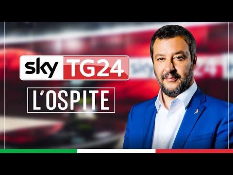 MATTEO SALVINI A L'OSPITE (SKYTG24, 21.11.2020)