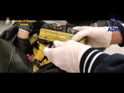 GDF Varese: sequestrato un ingente quantitativo di farmaci  presso lo scalo aeroportuale Malpensa.