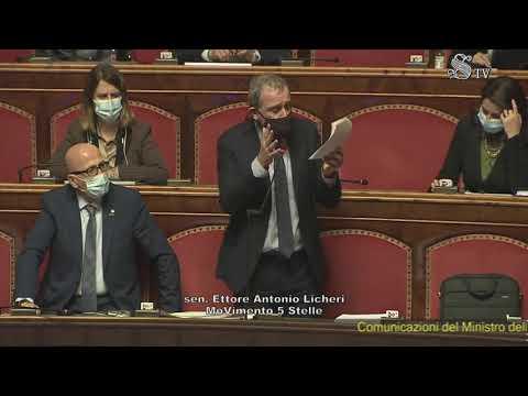 Ettore Licheri - intervento aula Senato 13/01/2021