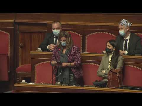 Angela Bruna Piarulli (M5S) Intervento di fine seduta - 13/1/2021