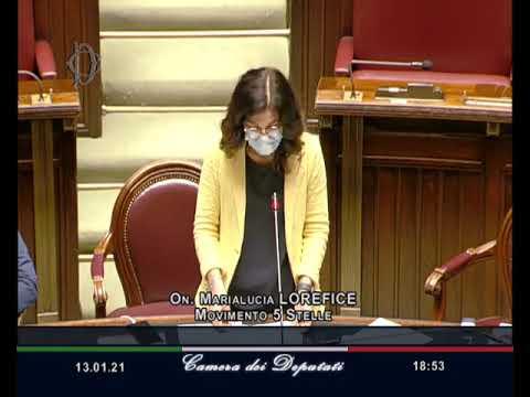 Marialucia Lorefice intervento Aula 13/01/2021