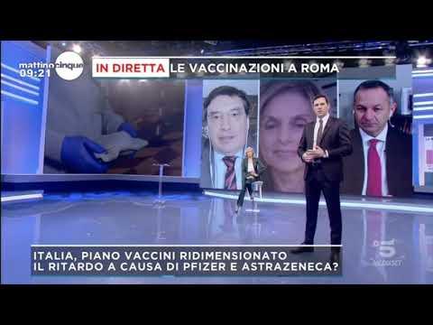 Nicola Provenza ospite a Mattino Cinque Canale 5 25/01/2021