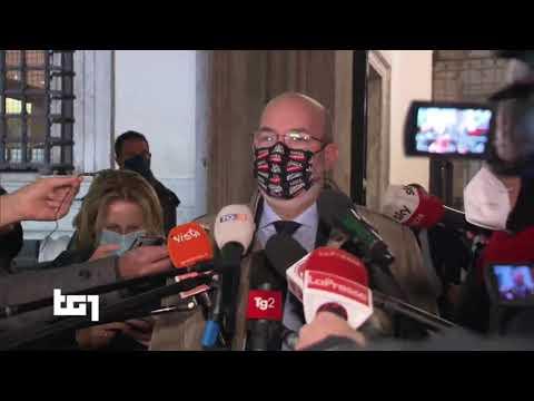 Ettore Licheri (M5S) Servizio Tg1 - 26/1/2021 ore 20