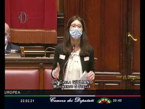 Carla Giuliano intervento Aula 22/02/2021