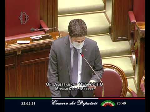 Alessandro Melicchio intervento Aula 22/02/2021