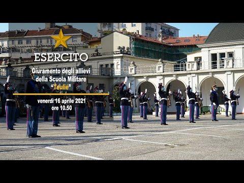 """Giuramento degli Allievi del Corso """"Buffa di Perrero III"""" - Scuola Militare """"Teulié"""" - Milano"""