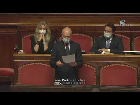 Pietro Lorefice (M5S): dichiarazione di voto sulla legge di delegazione europea 2019-2020