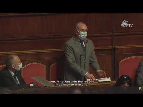 Vito Petrocelli (M5S) su ratifica accordo Italia-Tunisia per costruzione elettrodotto