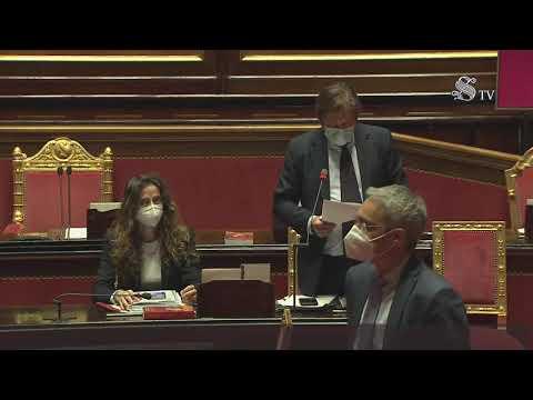 Pierpaolo Sileri - Intervento aula Senato  7/4/2021