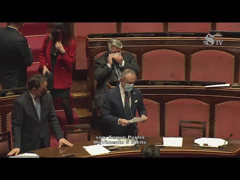 Sergio Puglia (M5S) Intervento di fine seduta - 7/4/2021
