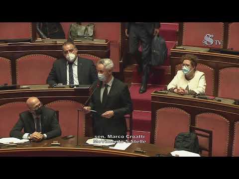 Marco Croatti (M5S) - Intervento di fine seduta 7/4/2021