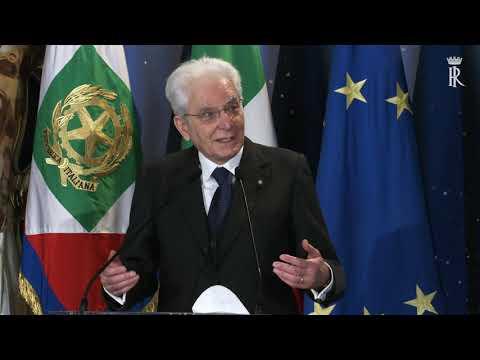 """Intervento del Presidente Mattarella alla presentazione dei  """"David di Donatello"""""""