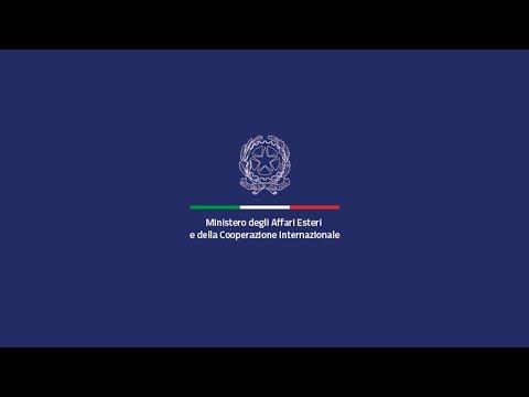 Pressestatement von Minister Luigi Di Maio und Deutschlands Außenminister Heiko Maas