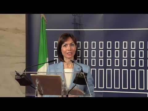 Firma del Protocollo d'intesa MAECI - Ministero per il Sud - Dichiarazioni della Ministra Carfagna