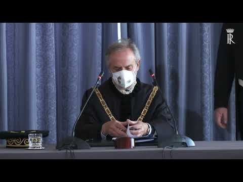 Mattarella alla Riunione straordinaria della Corte costituzionale