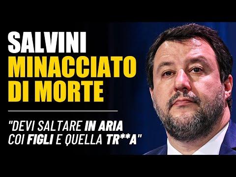 """""""DEVI SALTARE IN ARIA COI FIGLI E QUELLA TR**A"""". MATTEO SALVINI: """"SOLIDARIETÀ DA SINISTRA? ZERO"""""""