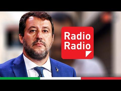 MATTEO SALVINI A RADIO RADIO (14.05.2021)