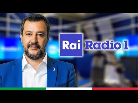 MATTEO SALVINI A UN GIORNO DA PECORA (RAI RADIO 1, 14.05.2021)