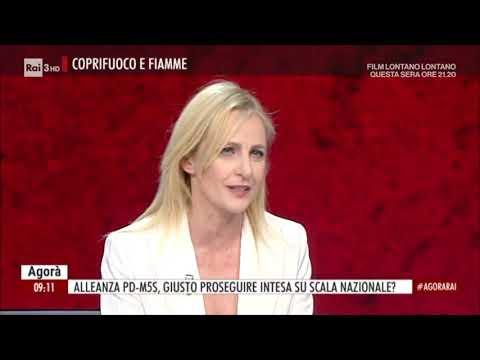 Chiara Appendino ospite ad Agorà il 14/05/21