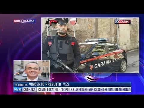 Vincenzo Presutto ospite a TgCom24