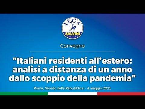 ITALIANI RESIDENTI ALL'ESTERO. ANALISI A DISTANZA DI UN ANNO DALLO SCOPPIO DELLA PANDEMIA 04.05.2021