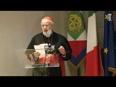 Mattarella assiste alla proiezione di un filmato per la beatificazione del giudice Rosario Livatino