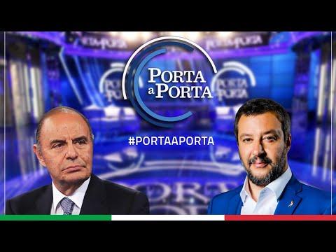 MATTEO SALVINI A PORTA A PORTA (RAI 1, 06.05.2021)