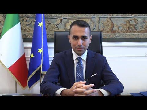 Intervento del Ministro Luigi Di Maio all'assemblea generale Marcomacchine