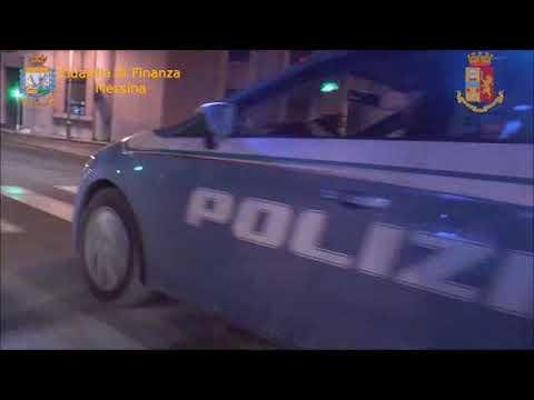 GdF e PoliziadiStato di Messina:  operazione Drug Express.