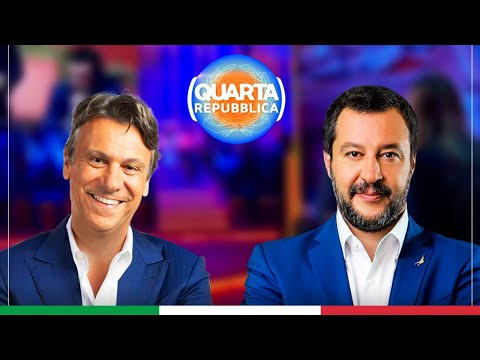 MATTEO SALVINI A QUARTA REPUBBLICA (RETE 4, 19.07.2021)