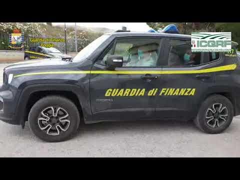 GDF Foggia e l'Ispettorato Controllo Qualità e Repressione Frodi di Bari