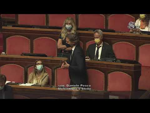Daniele Pesco (M5S) Interviene sul Decreto SostegniBis