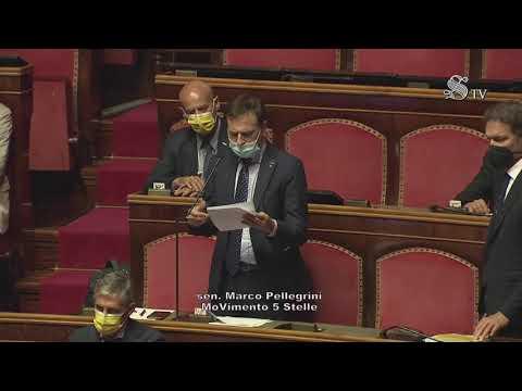 """Marco Pellegrini (M5S)Intervento di fine seduta: """"Oggi, 20 anni dopo il G8 di Genova"""""""