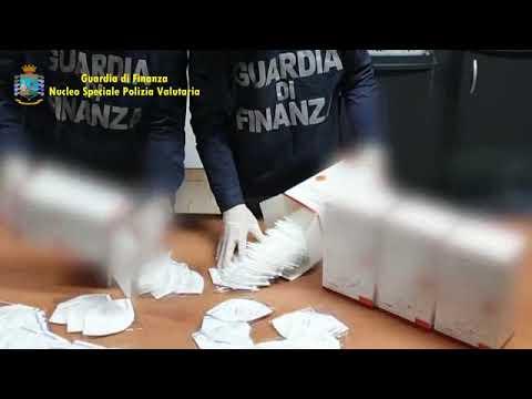 La GDF del Nucleo Speciale Polizia Valutaria e di Savona
