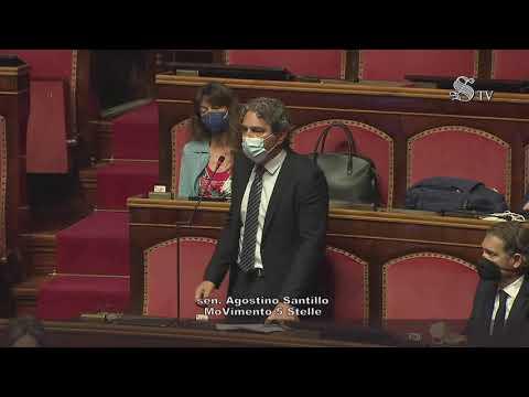 """Agostino Santillo (M5S): """"Decreto Sostegni Bis è molto più di un semplice decreto legge"""""""