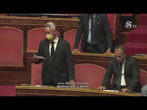 Marco Croatti (M5S) Intervento di fine seduta - 22/07/2021