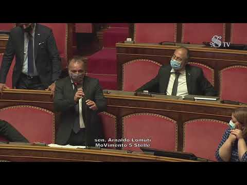 Arnaldo Lomuti (M5S) Intervento di fine seduta - 22/07/2021