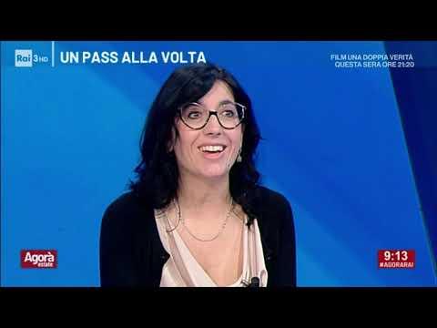Fabiana Dadone ospite ad Agorà estate  Rai3  23/07/2021